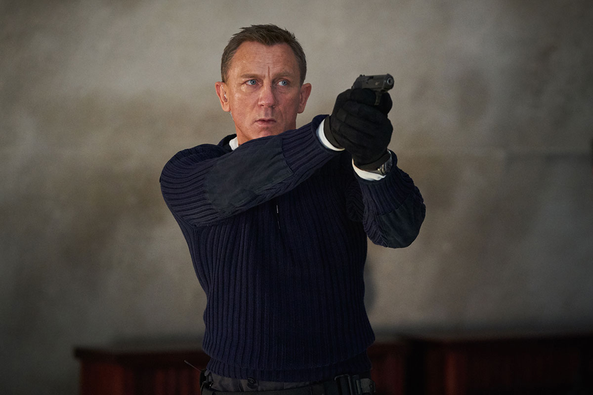 James Bond 007 No Time To Die Interview
